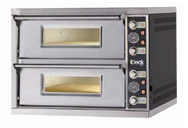 Moretti Electric Double Deck Pizza Oven  4 x 280mm Pizza Capacity, per deck