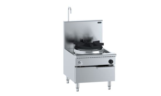 B+S Verro VUFWWSP-1 Single Hole Waterless Stock Pot Cooker