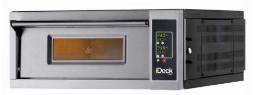 Moretti Electric Single Deck Pizza Oven  4 x 280mm Pizza Capacity Electronic Controls
