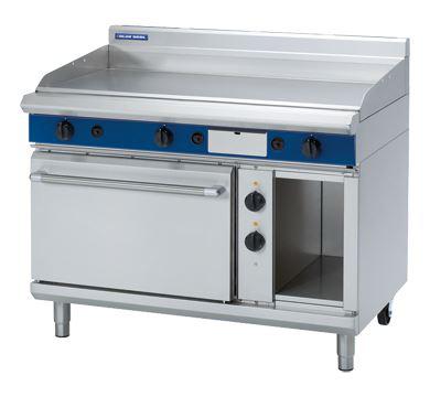 Blue Seal Evolution Series 1200mm Gas Griddle Electric Static Oven Range