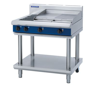 Blue Seal Evolution Series 900mm Electric Cooktop  Leg Stand