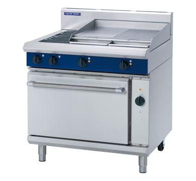 Blue Seal Evolution Series 900mm Electric Range Convection Oven 2 radiant element cooktop range