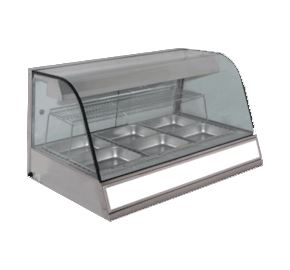 Woodson Heated Chicken Display 4 x 1/2 GN Size Pans