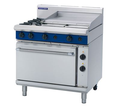 Blue Seal Evolution Series 900mm Gas Range Electric Static Oven