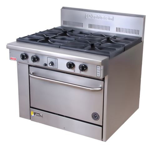 Goldstein CS428 Cuisine Range 4 Burner 28 inch Static Gas Oven