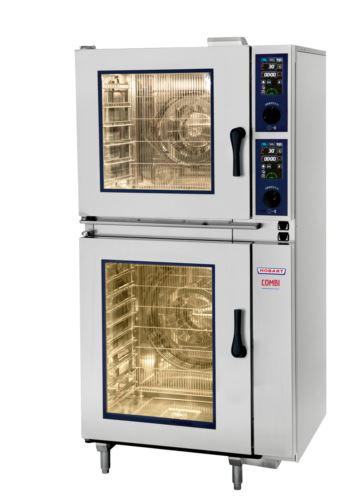 Hobart HEJ661E-C Stacked 6 + 6 x 1/1 GN Tray Combi Oven