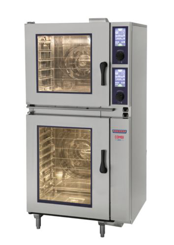 Hobart HPJ661E-C Stacked 6 + 6 x 1/1 GN Tray COMBIPLUS Oven