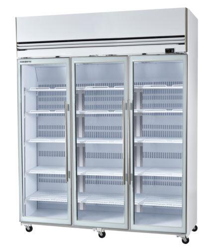 White 3 Door Freezer