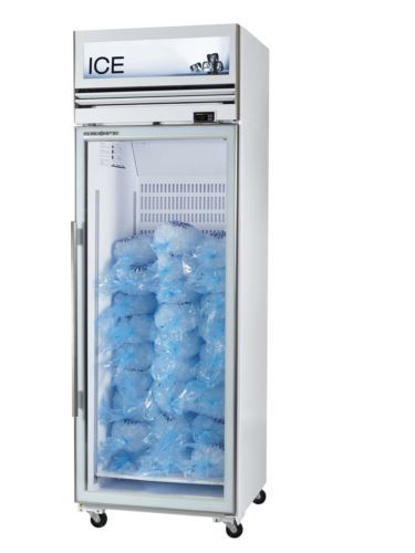 Ice White 1 Door Freezer