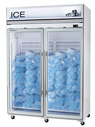 Ice White Double Door Freezer