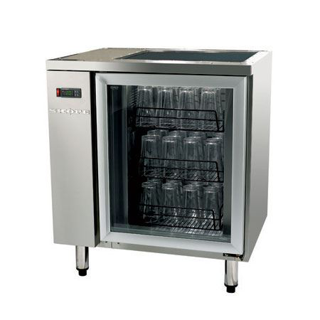 Skope GC110r Single Door under counter glass chiller ,Remote 750 x 600 x 845H,