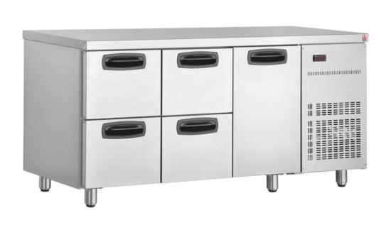 Inomak UBD4000 Underbar Fridge 1 Door & 4 Drawers