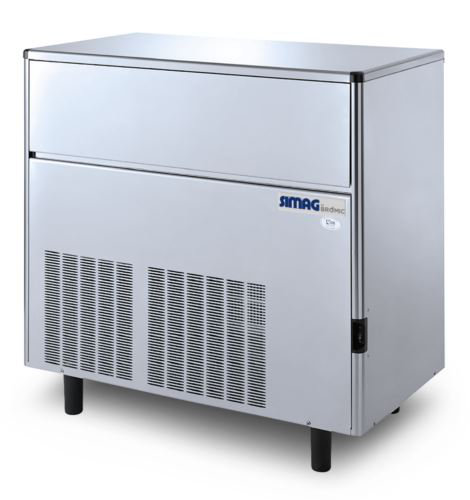 Bromic IM0113SSC Self-Contained 115kg Solid Cube Ice Machine