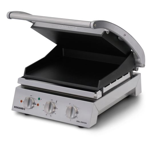 Roband GSA610ST 6 Slice Smooth Non-Stick Grill Station