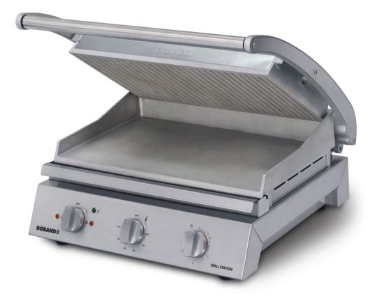 Roband GSA810R 8 Slice Ribbed Grill Station