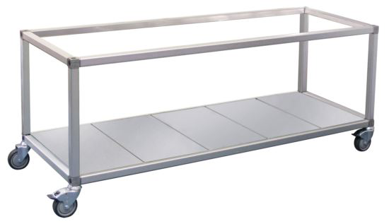 Roband ET23 Food Bar and Bain Marie Trolley 6 Pans