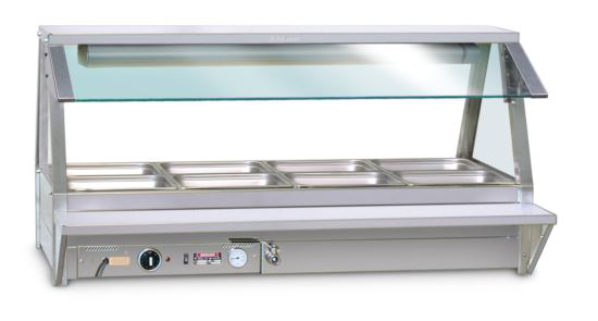 Roband TR24 Tray Race to suit 8 Module Food Bars - Double Row
