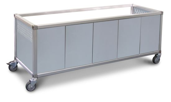 Roband ETP23 Stainless Steel Panels to suit ET23 trolley
