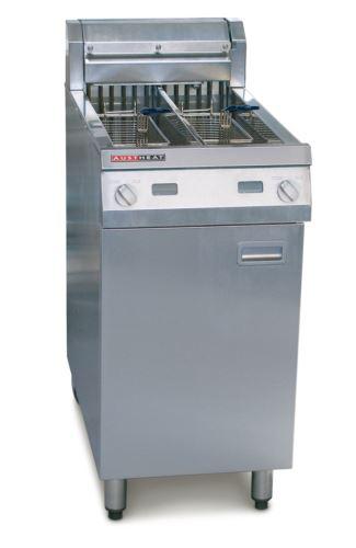 Austheat AF822 Freestanding Electric Fryer 2 x 14 Litre
