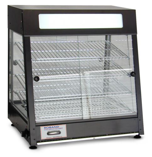 Roband PM60G Double Entry Pie Warmer and Merchandiser 60 Pie Capacity