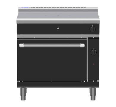 Waldorf Bold RNB8110G 900mm Gas Target Top Static Oven Range BLACK