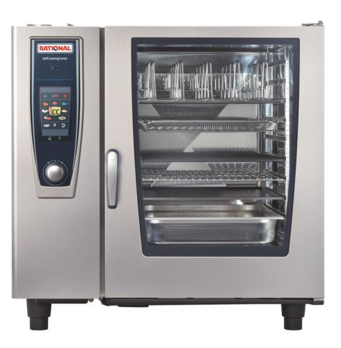 Rational SCC5S102G-NG SelfCookingCenter 5Senses 20 Tray Gas Combi Oven