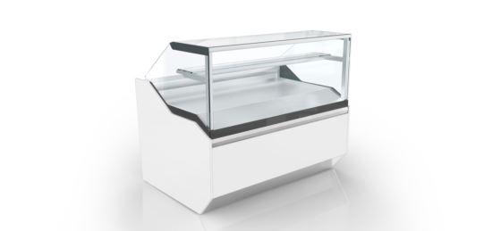 CIAM VRT1PS161I Vertigo 1 Refrigerated Static Pastry Showcase
