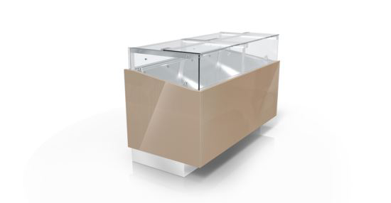 CIAM SQG1RV150I 6040 Ventilated Refrigerated Showcase G1