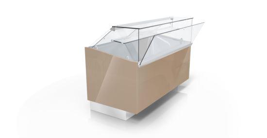 CIAM SQS3RV150I 6040 Ventilated Refrigerated Showcase S3