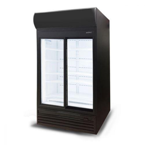 Bromic GM0980LS LED Sliding Glass Door 945L LED Display Chiller