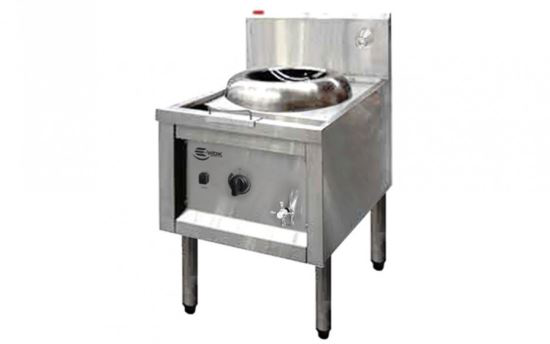 E-Wok ACT1.I.50.800 5kw Asian Cooking Wok Table