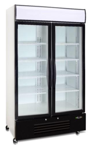 Saltas DFS2999 2 glass Door Upright Freezer