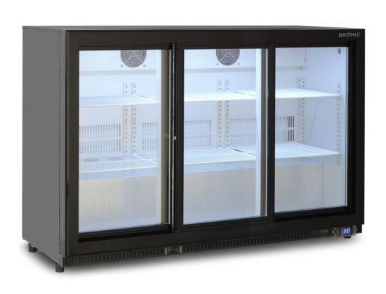 Bromic BB0330GDS Back Bar Display Chiller 307L (Sliding Door)
