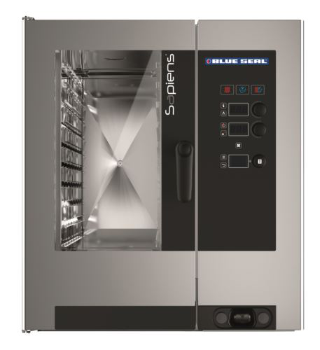 Blue Seal Sapiens E10RSDW 10 Tray Electric Combi Oven