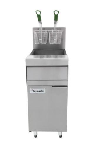 Frymaster MJ150-2-NG Master Jet Split Pot 2 x 12.5L Fryer - Natural Gas