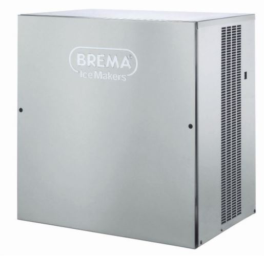 Brema VM500A Ice Maker No Bin. Up To 200kg Production. Vertical Evaporator. Fast Ice