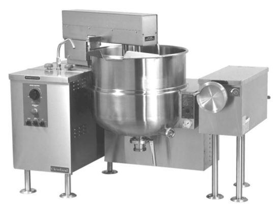 Cleveland MKGL60T-NG Gas 225L Tilting Mixer Kettle Nat Gas MTP DPK BV3 LM