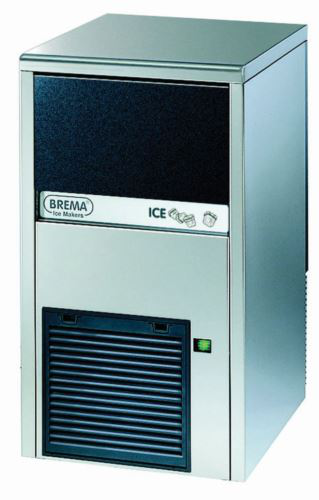 Brema CB249A Ice Maker With Internal Storage Bin Up To 28kg Production. Cone Shape 13G