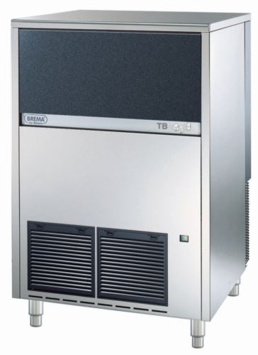 Brema TB1405A Pebble Ice Maker With Internal Storage Bin. Up To 140kg Production. 50kg Storage