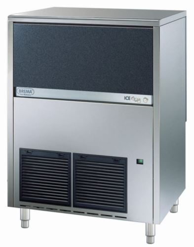 Brema CB840A Ice Maker With Internal Storage Bin. Up To 80kg Production. Cone Shape 13G