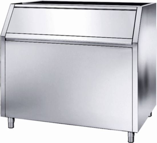 Brema BIN350 Stainless Steel. 350kg Storage to suit C300, VM500-900-1700, G250-500 and M350