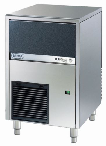 Brema CB425A Ice Maker With Internal Storage Bin. Up To 46kg Production. Cone Shape 13G