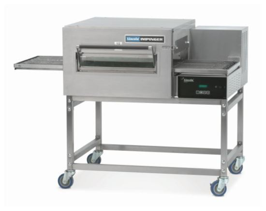 Lincoln 1154-NG Impinger II Conveyor Oven 1828 Fastbake 18'' belt, 1422W x 991D x 1067H mm (single deck) nat gas