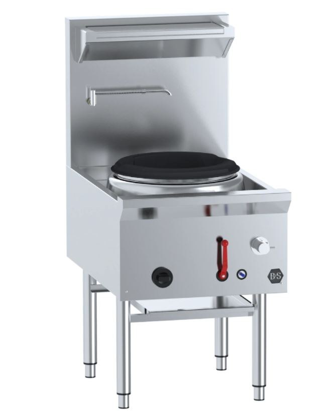 Large Single Hole Deluxe Waterless Wok Table