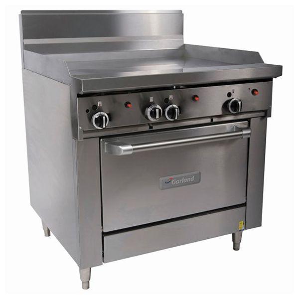 900mm Wide Griddle w Oven Nat Gas