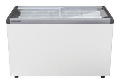Flat Glass Slide Lid Chest Freezer 280L
