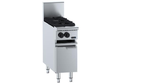 Two Burner Boiling Top with lower working height