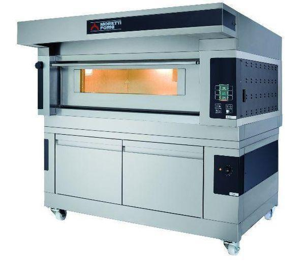 Hi-Tech Electric Single Deck Oven with Refractory Stone Deck