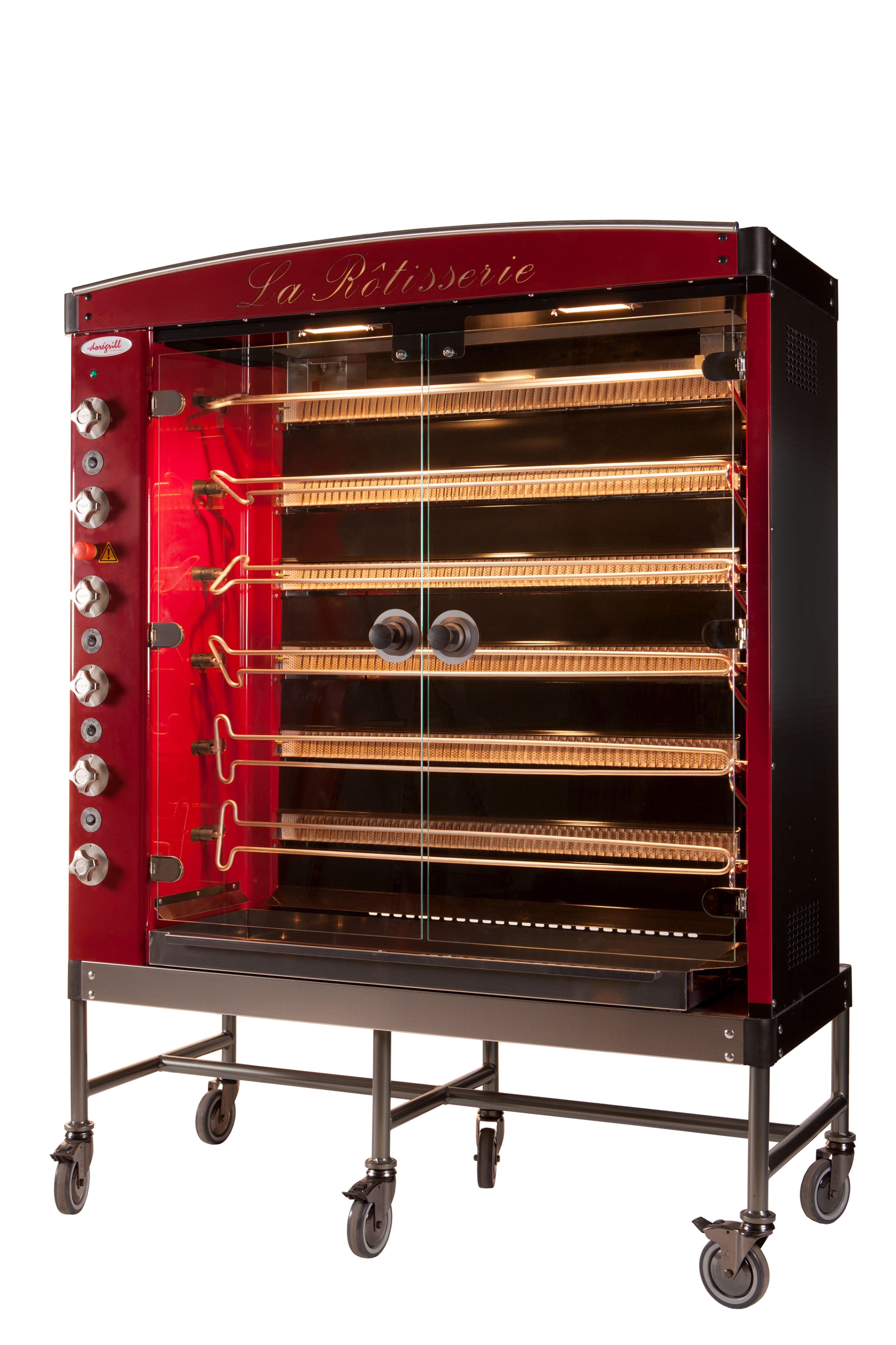 Doregrill MAG6-G Traditional Gas Rotisserie