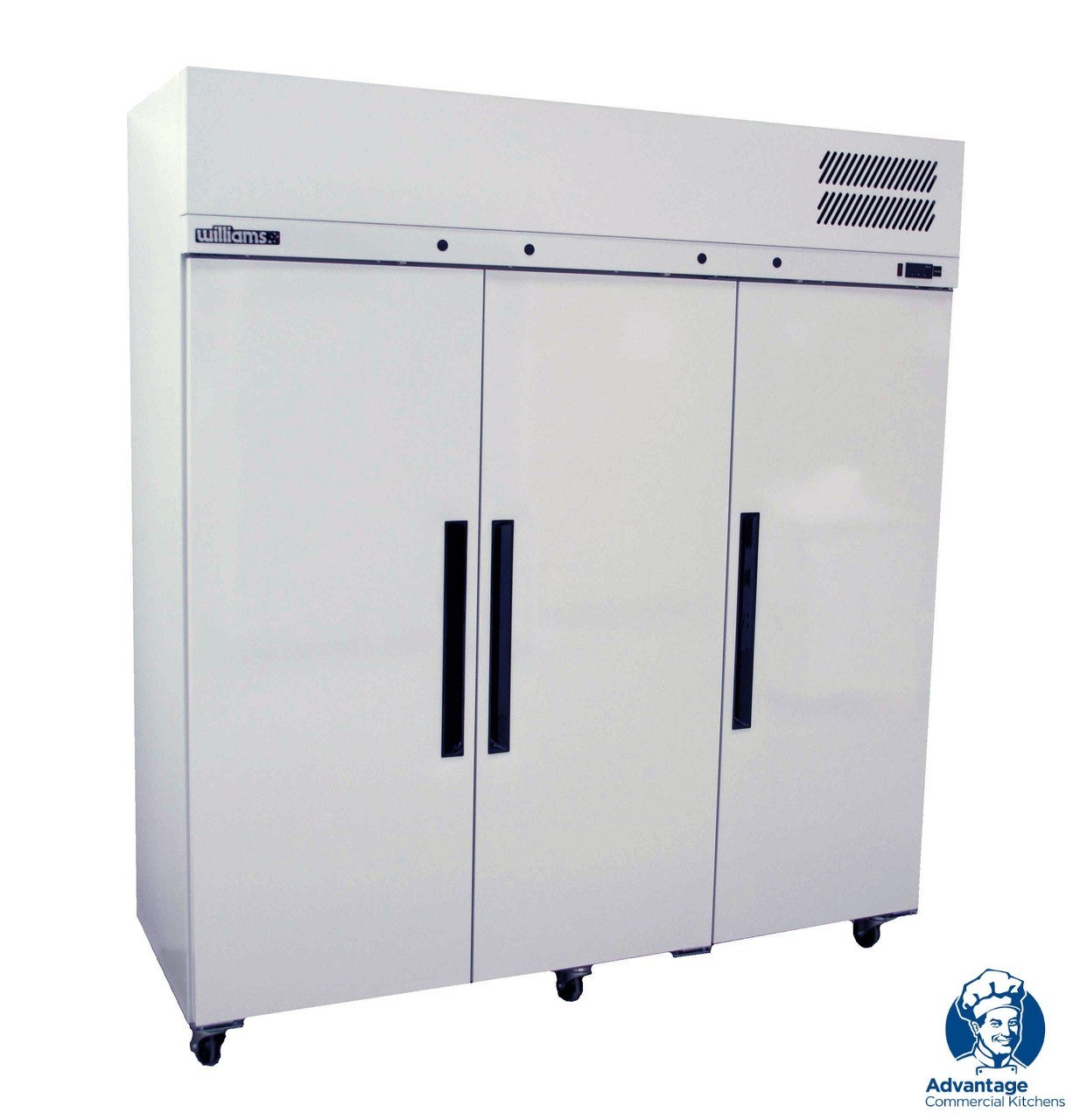 Williams LPS3SDCB Pearl 3 Door Upright Freezer